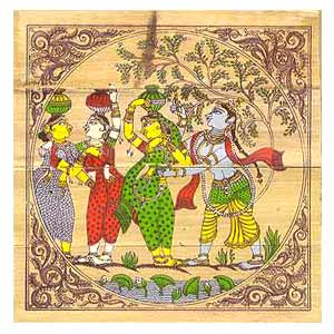 Traditional Indian Painting, Indian Folk Paintings, Patachitra ...